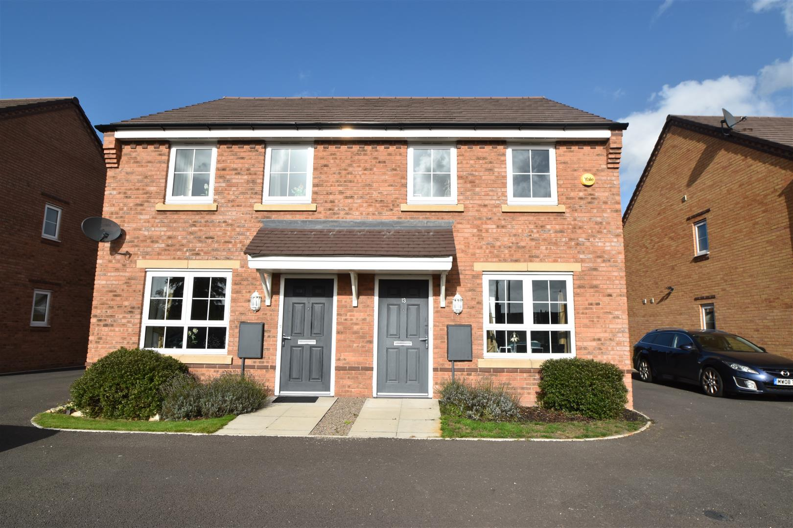 2 Bedrooms House for sale in Chalmers Close, Worcester